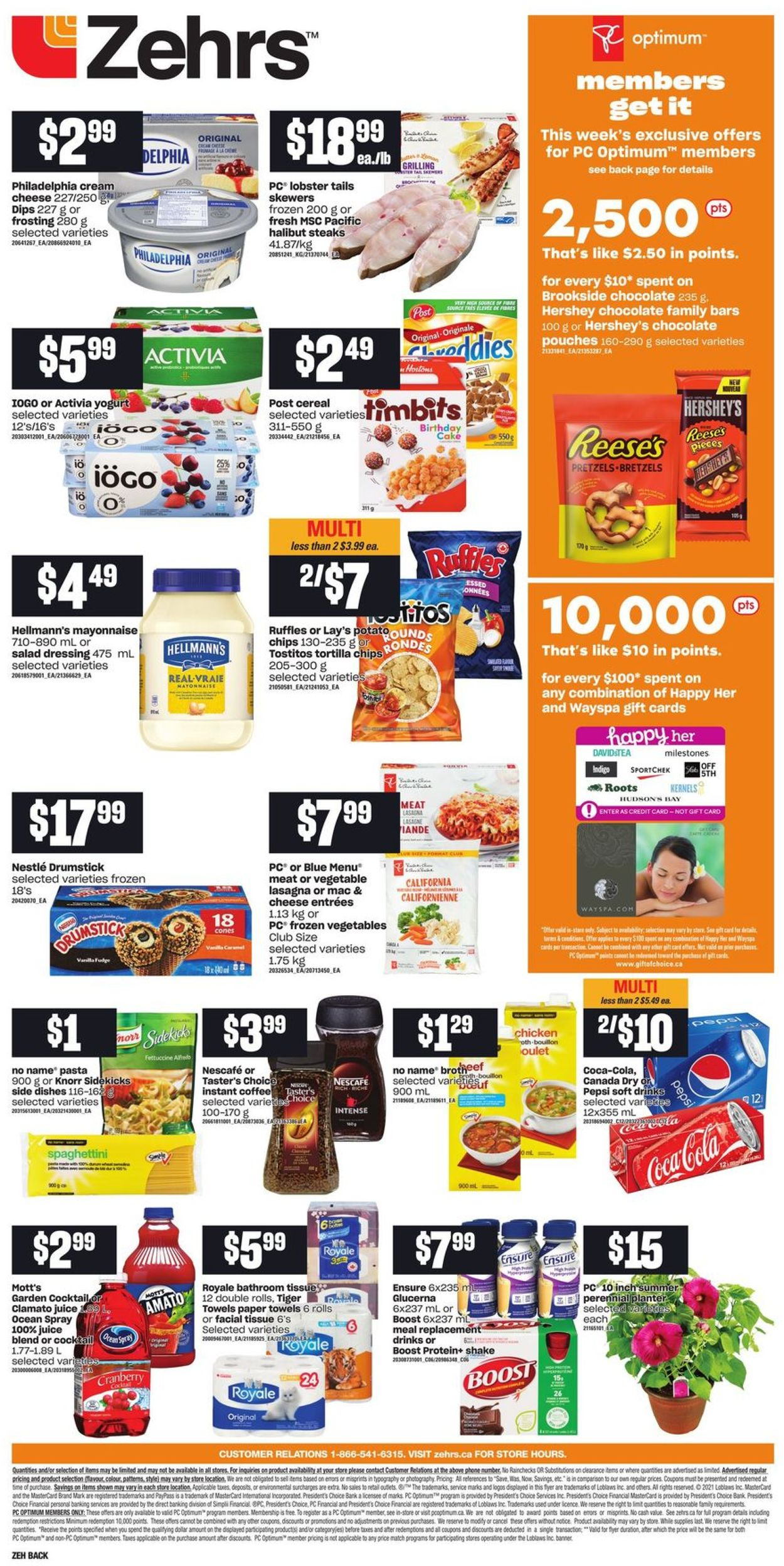 Zehrs Flyer - 07/29-08/04/2021 (Page 4)
