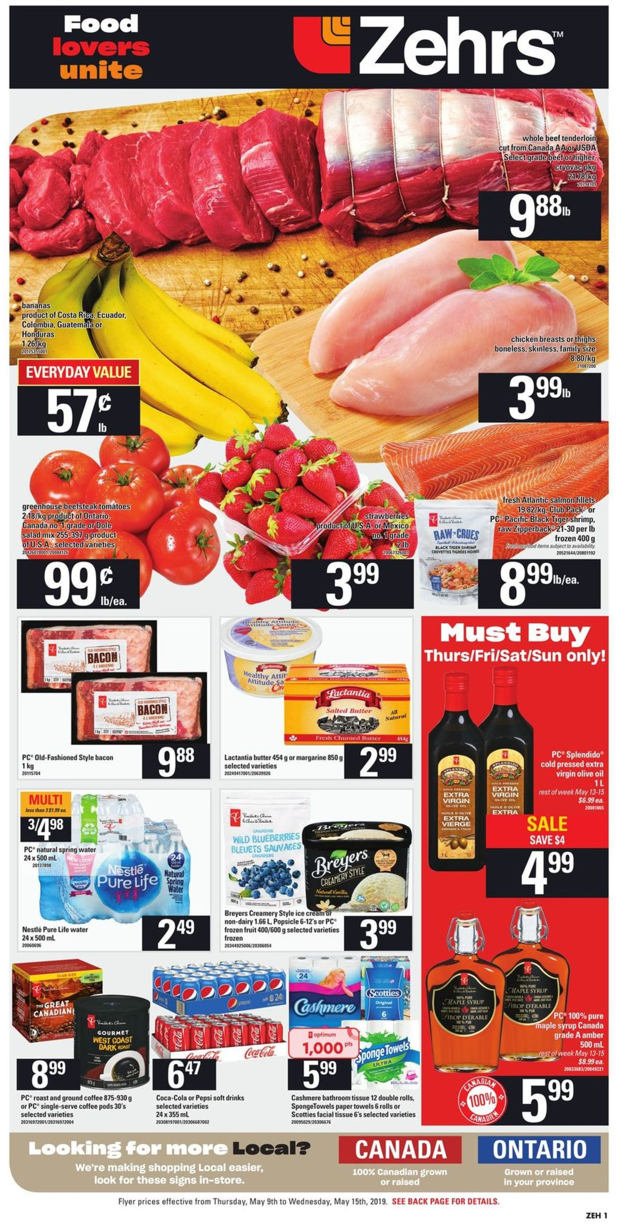 Zehrs Flyer - 05/09-05/15/2019 (Page 3)