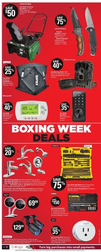 Canadian Tire Boxing Week