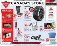 Canadian Tire BLACK FRIDAY 2021
