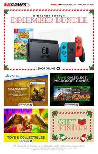 EB Games - Christmas 2020