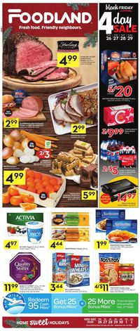 Foodland - Black Friday 2020