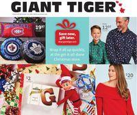 Giant Tiger - Christmas 2020