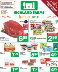 Highland Farms - Holiday 2020