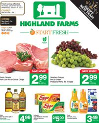 Highland Farms - New Year 2021