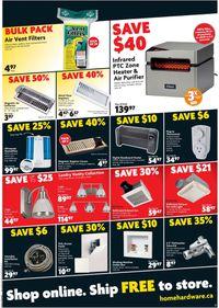 Home Hardware BLACK FRIDAY SALE!