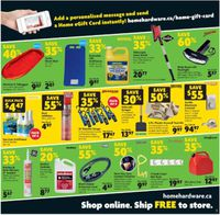 Home Hardware Boxing Week Sale