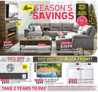 Leon's - Early Black Friday 2019 Flyer