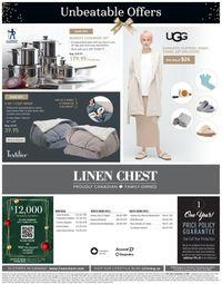 Linen Chest - Black Friday 2020