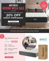Linen Chest Boxing Mega Sale 2020