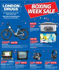London Drugs Boxing Week Sale