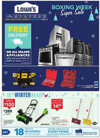 Lowe's Boxing Week Supersale 2020