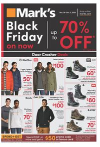 Mark's - Black Friday Flyer 2020