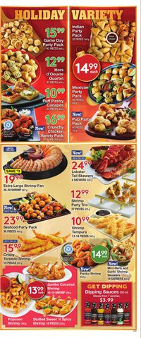 M&M Food Market - Holiday Flyer 2019