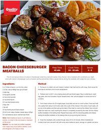Quality Foods Recipes