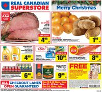 Real Canadian Superstore Christmas Flyer 2019
