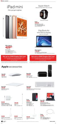 Staples BLACK FRIDAY SALE 2019