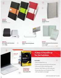Staples HOLIDAY FLYER 2019