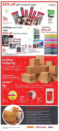 Staples - Holiday 2020