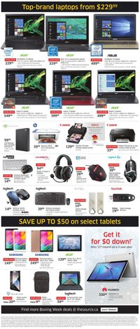 The Source - Boxing Week Sale