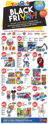 Toys''R''Us - Black Friday 2020