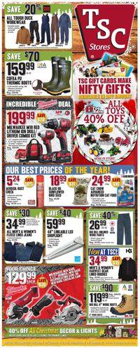 TSC Stores Christmas Flyer 2019