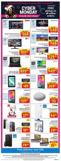 Walmart - Cyber Monday