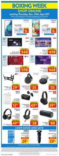 Walmart - Boxing Day 2020