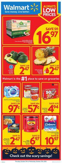 Walmart HALLOWEEN 2021