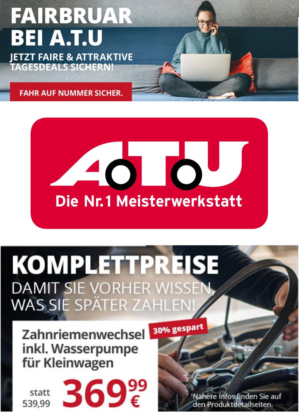 A.T.U Prospekt - Aktuell vom 09.02-28.02.2021