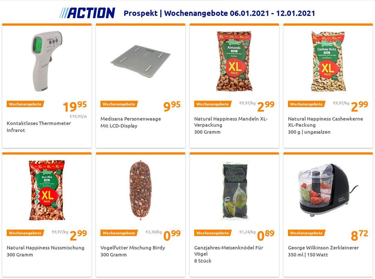 Action Prospekt - Aktuell vom 06.01-12.01.2021
