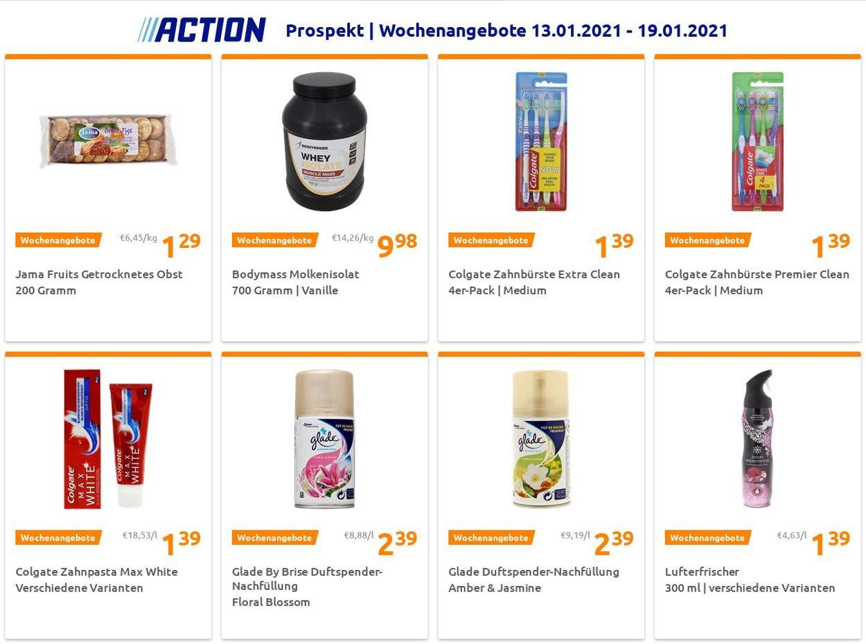 Action Prospekt - Aktuell vom 13.01-19.01.2021