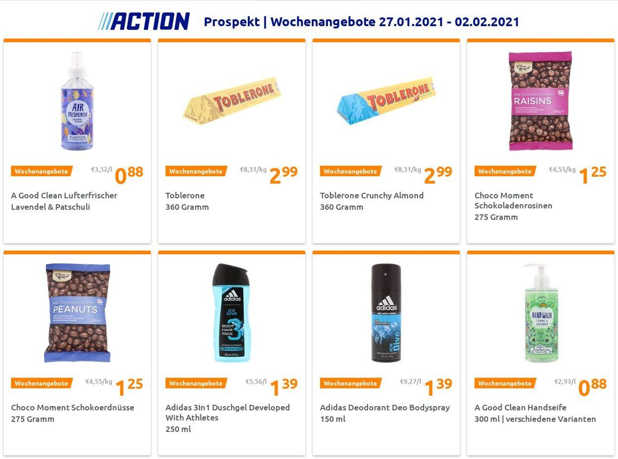 Action Prospekt - Aktuell vom 27.01-02.02.2021