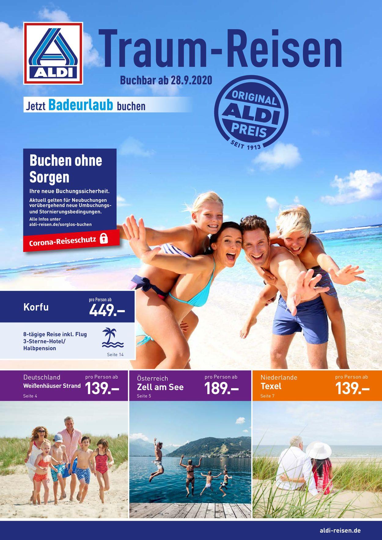 ALDI Nord Prospekt - Aktuell vom 28.09-31.10.2020