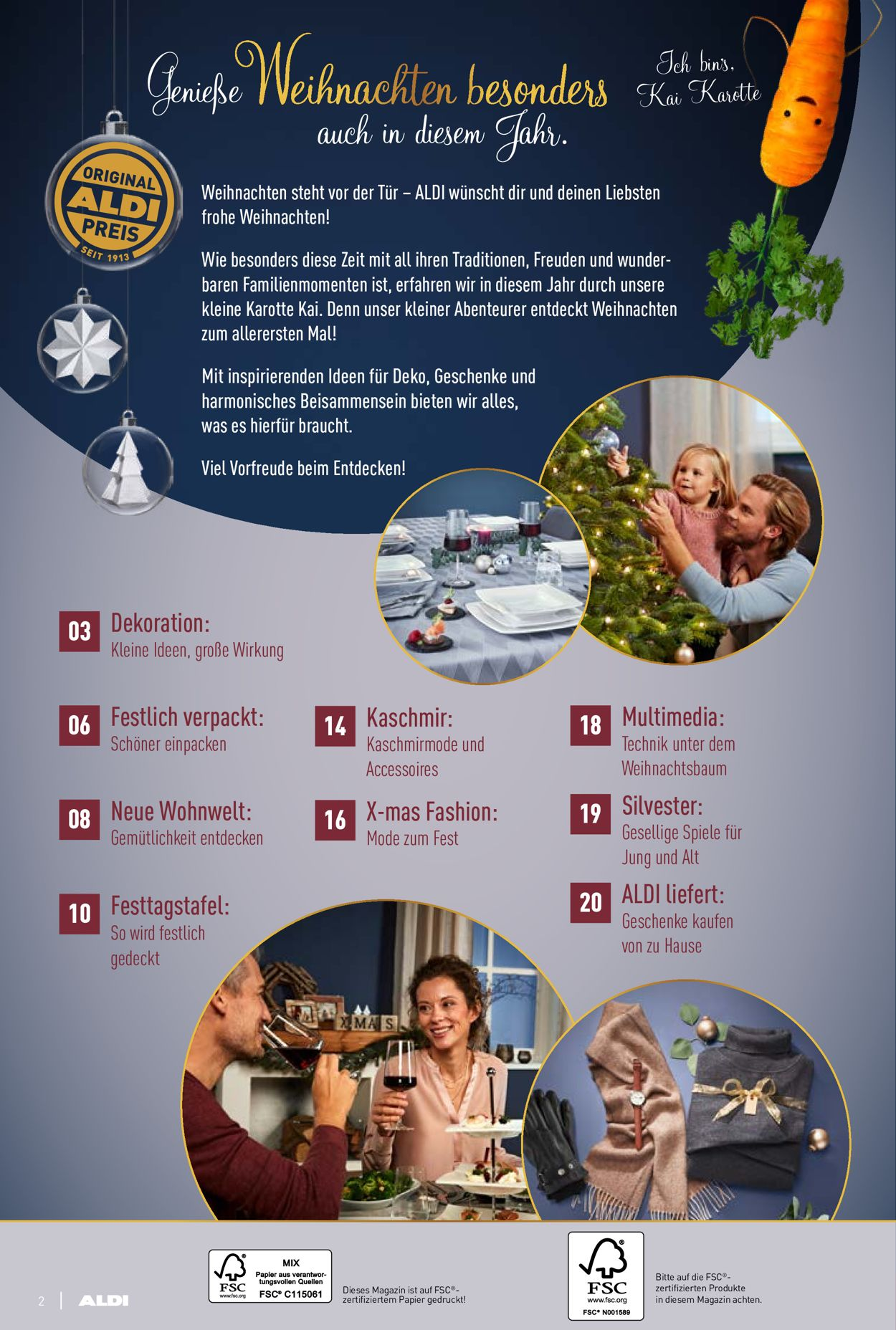 ALDI Nord Weihnachtsprospekt 2020 Prospekt - Aktuell vom 16.11-29.12.2020 (Seite 2)