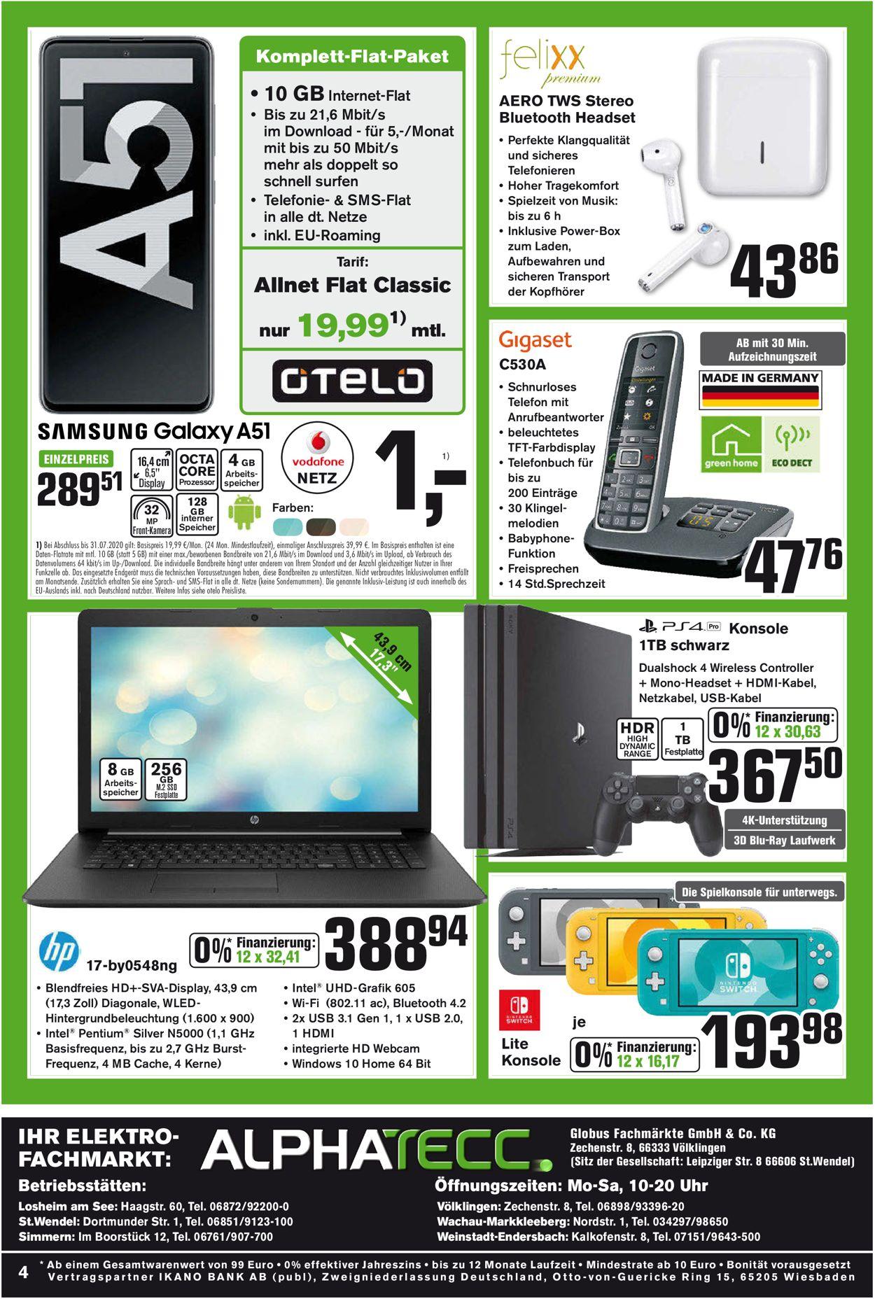 AlphaTecc Prospekt - Aktuell vom 27.07-01.08.2020 (Seite 4)