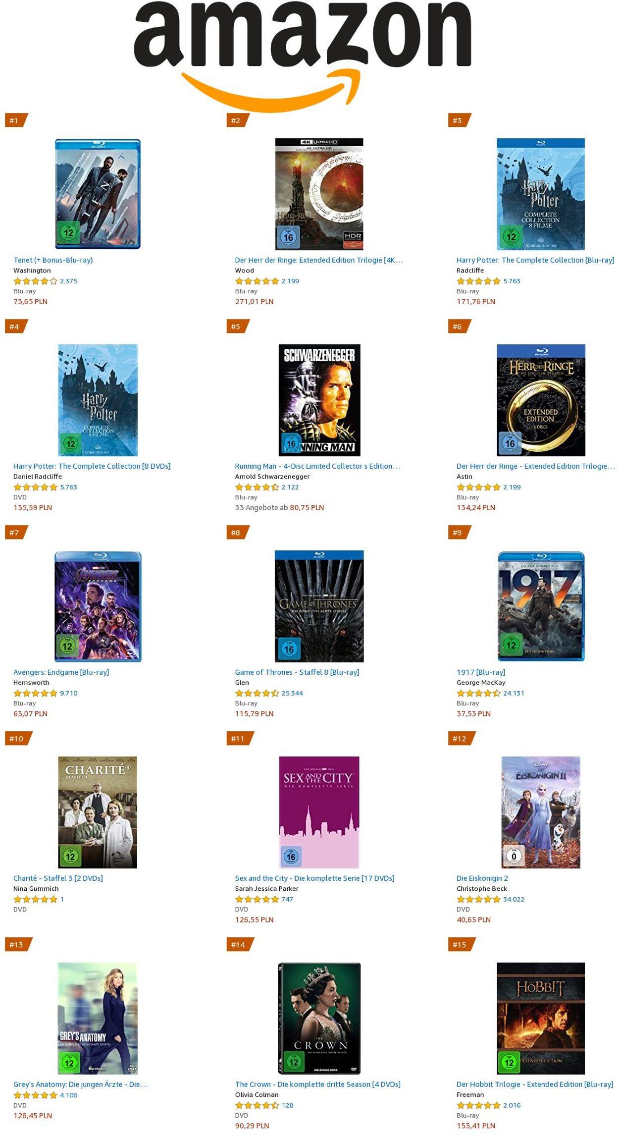 Amazon Prospekt - Aktuell vom 14.01-20.01.2021