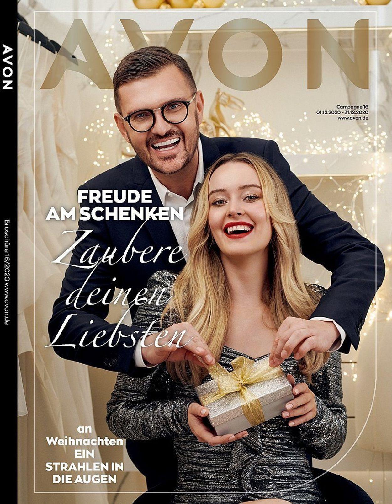 Avon Weihnachtsprospekt 2020 Prospekt - Aktuell vom 01.12-31.12.2020