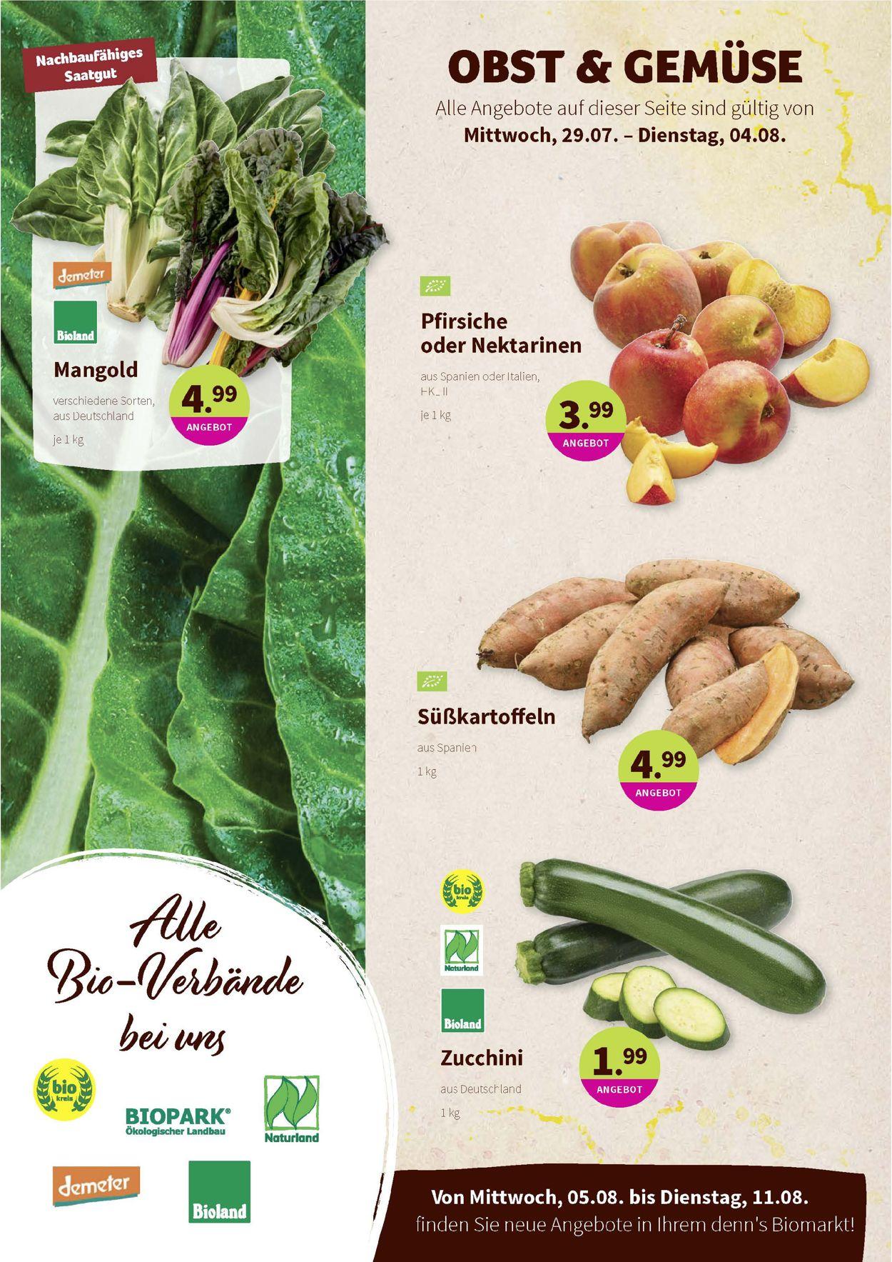 Denn's Biomarkt Prospekt - Aktuell vom 29.07-11.08.2020 (Seite 2)