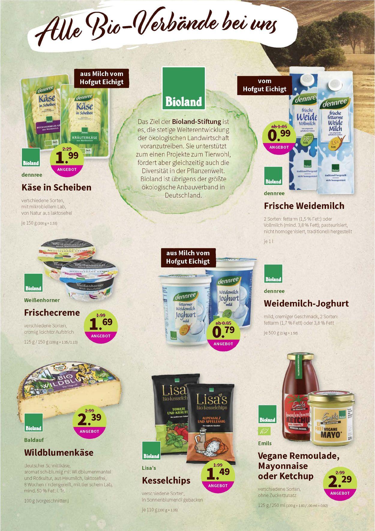 Denn's Biomarkt Prospekt - Aktuell vom 29.07-11.08.2020 (Seite 4)