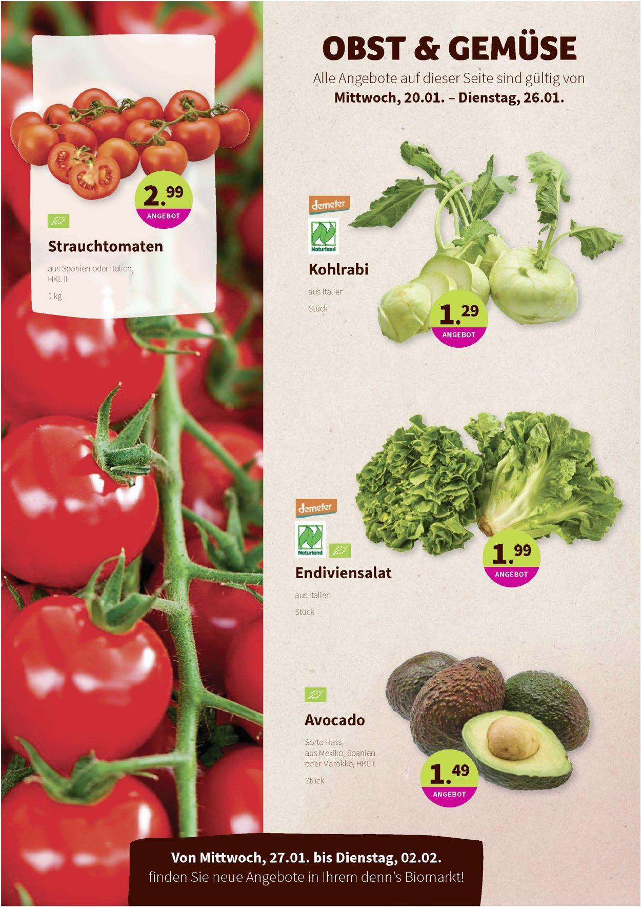 Denn's Biomarkt Prospekt - Aktuell vom 20.01-02.02.2021 (Seite 2)
