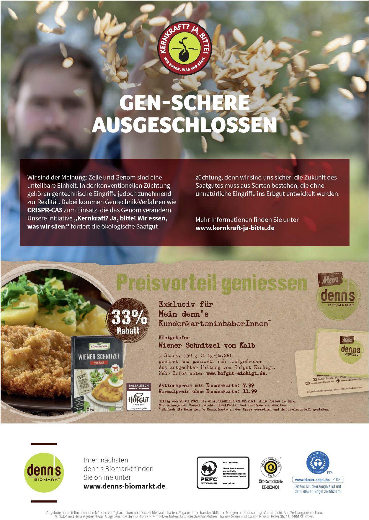 Denn's Biomarkt Prospekt - Aktuell vom 20.01-02.02.2021 (Seite 12)