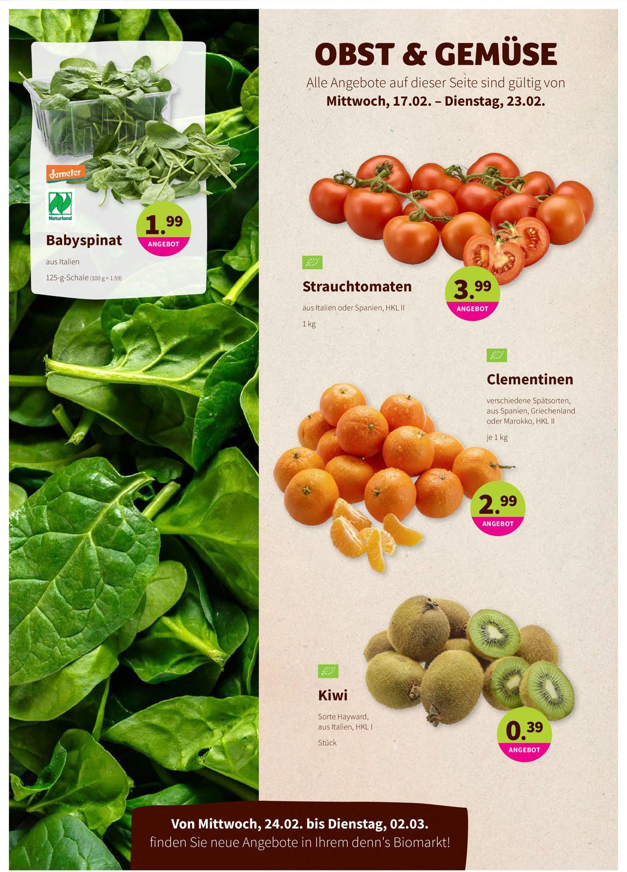 Denn's Biomarkt Prospekt - Aktuell vom 17.02-02.03.2021 (Seite 2)
