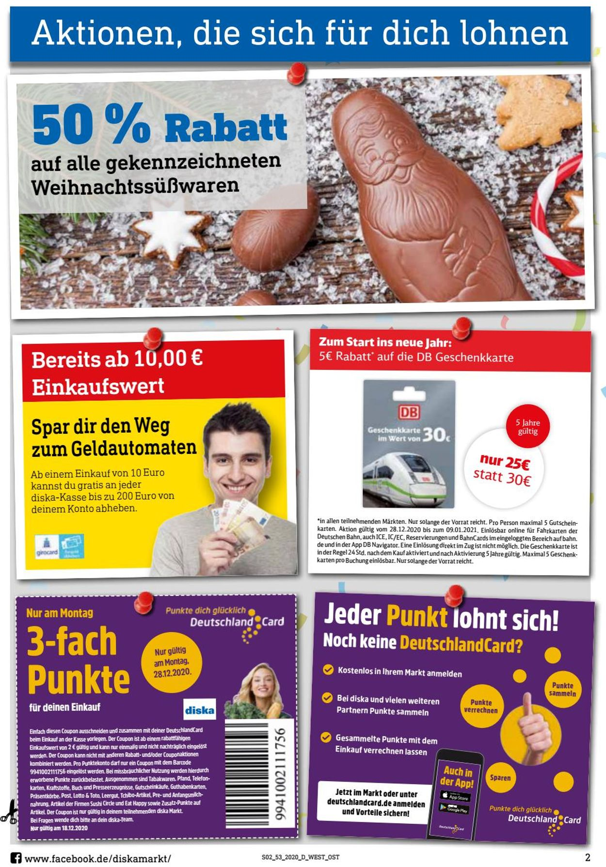 diska Prospekt - Aktuell vom 28.12-02.01.2021 (Seite 2)