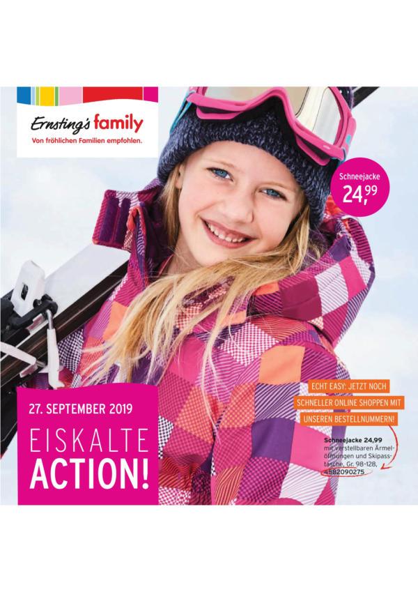 Ernstings family Prospekt - Aktuell vom 27.09-07.10.2019
