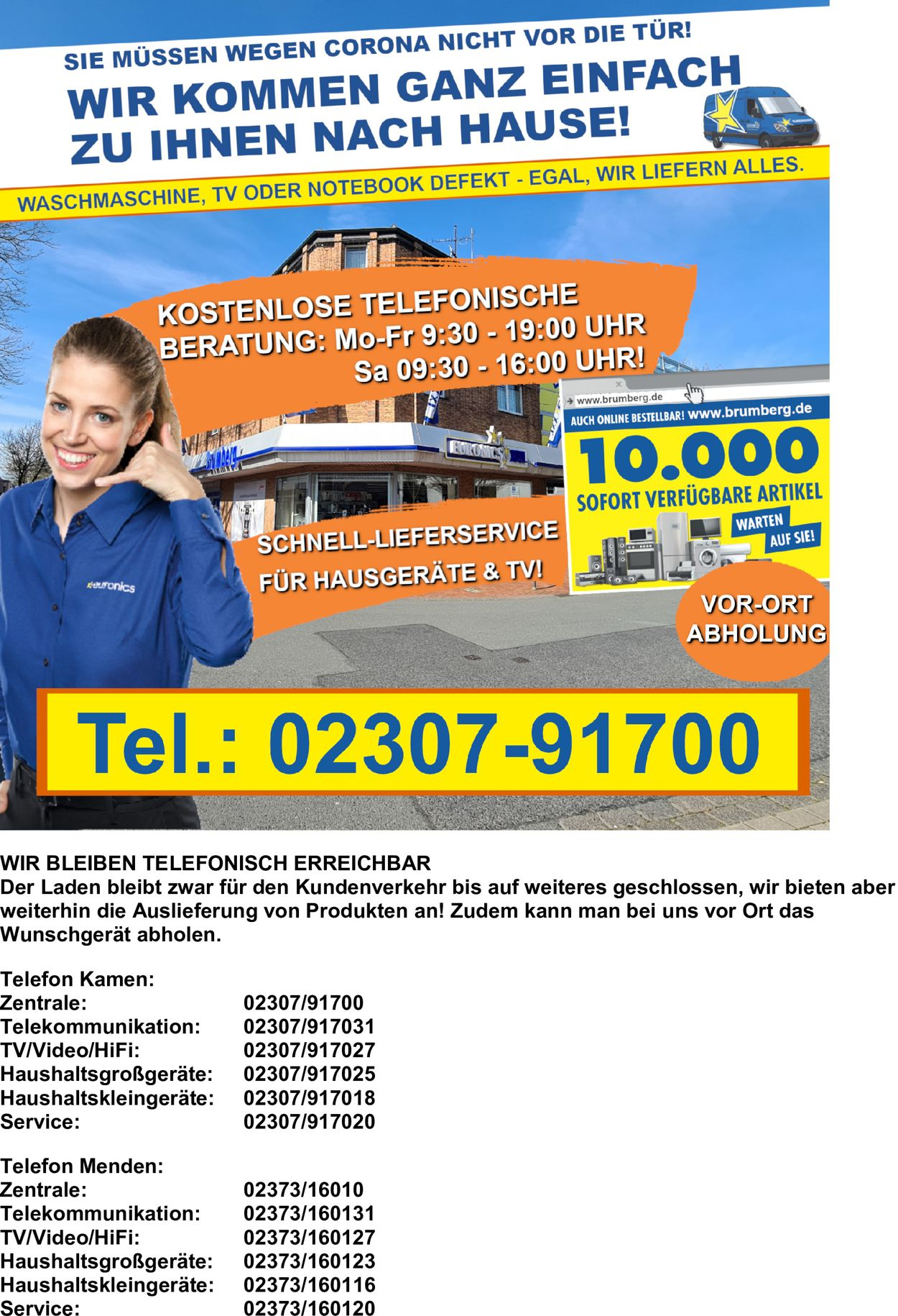 Euronics Prospekt - Aktuell vom 19.03-23.04.2020
