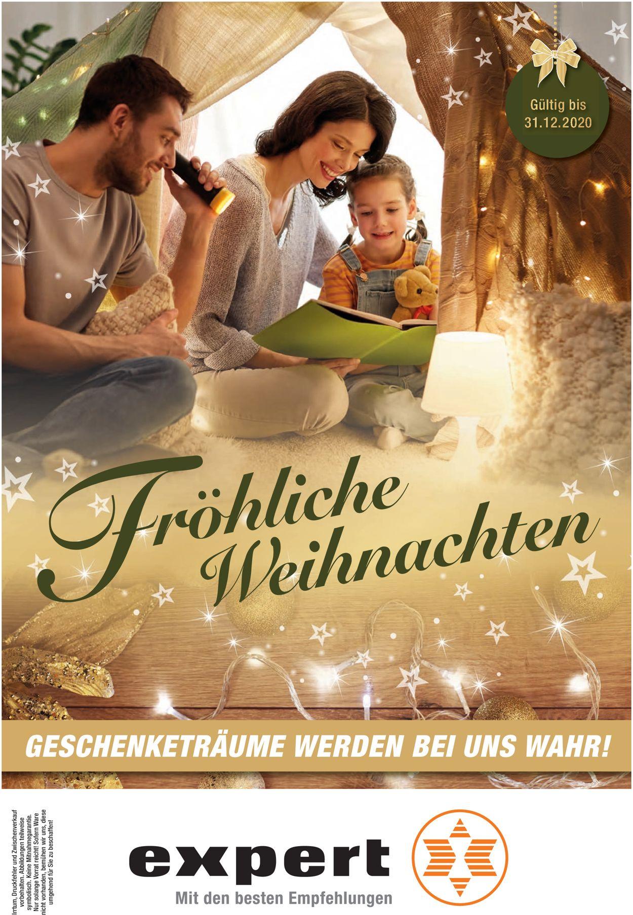 expert Schlagenhauf Weihnachtsprospekt 2020 Prospekt - Aktuell vom 11.12-31.12.2020