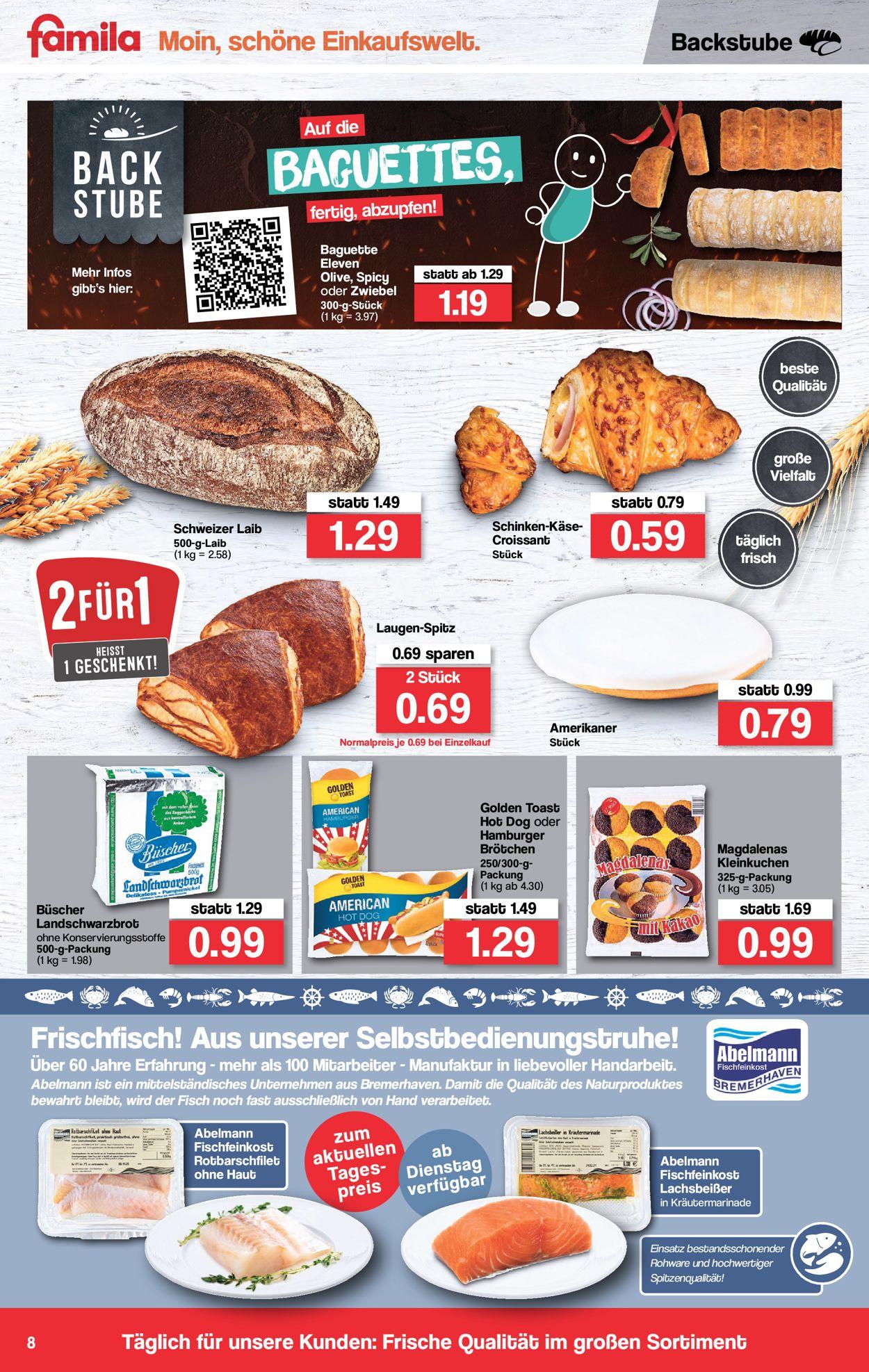 Famila Prospekt - Aktuell vom 10.05-15.05.2021 (Seite 8)