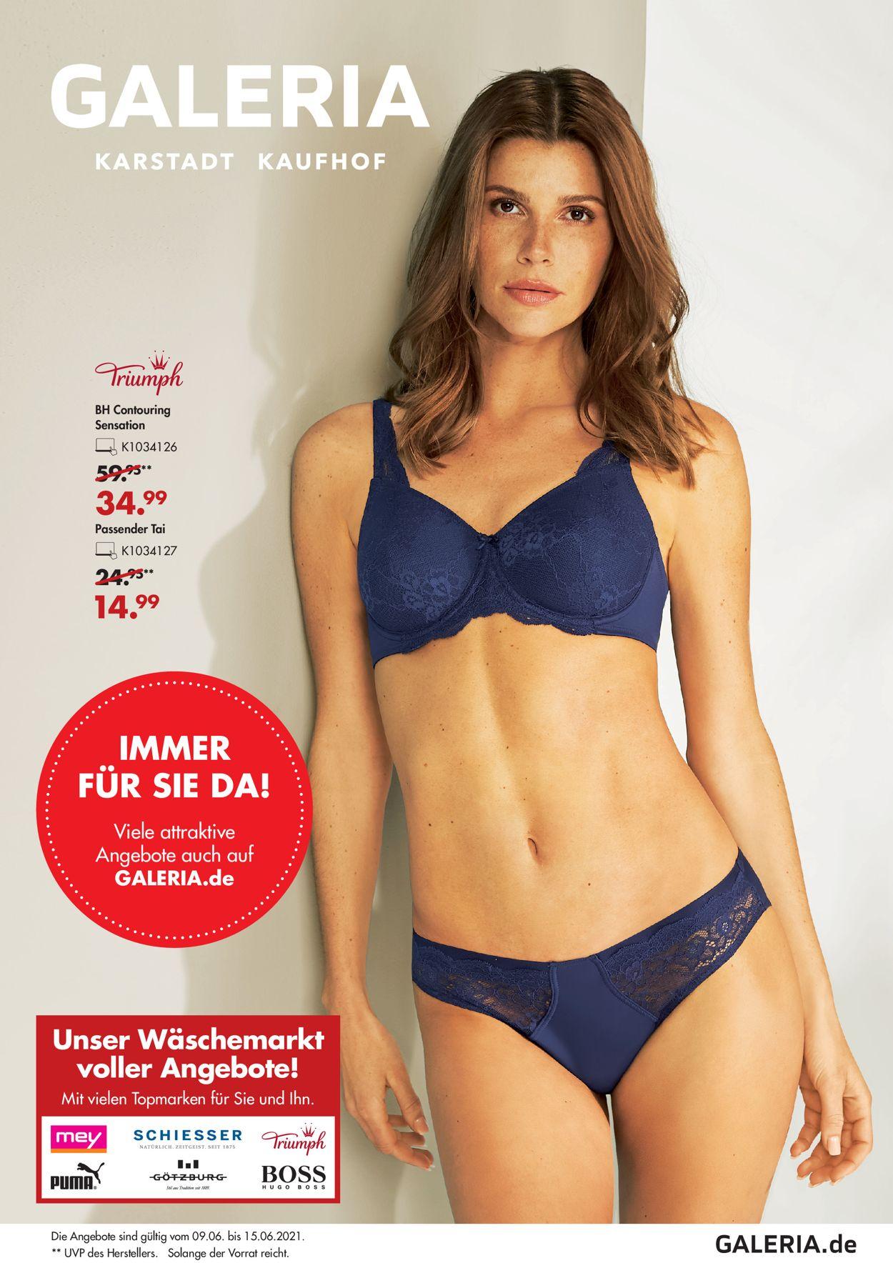 GALERIA Kaufhof Prospekt - Aktuell vom 09.06-15.06.2021