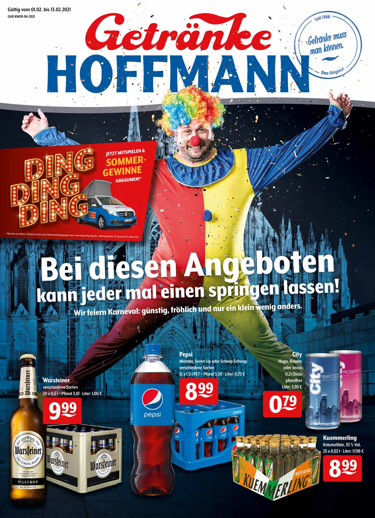 Getränke Hoffmann Prospekt - Aktuell vom 01.02-13.02.2021
